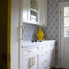 white and blue laundry rooms design ideas
