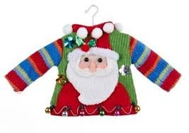 Ugly Christmas Sweater Decorations Ugly Holiday Sweater Christmas Tree Ornaments