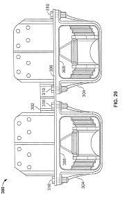 patent us8052166 tie plate and frame hanger of a suspension