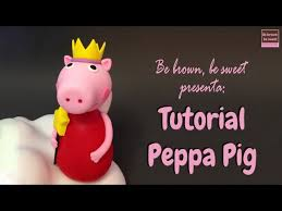 free download how to make fondant peppa pig and george cake topper