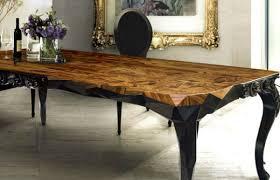 find 5 unique wood dining tables interior decoration