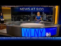 tv studio desk north american affilliates network set design american canadian