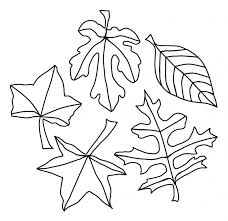 coloring pages coloring page leaves fall autumn pages coloring