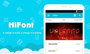 text free apk hifont cool font text free apk thing android apps free
