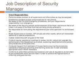 Security Officer Job Description For Resume by Resume Security Guard Resume Cv Cover Letter Hotel Security