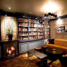 Best Living With Books Images On Pinterest Books Bookstores - Design home library