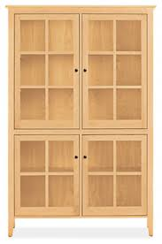 Bookcase Cupboard Adams Modern Glass Door Cabinets Modern Bookcases U0026 Shelves