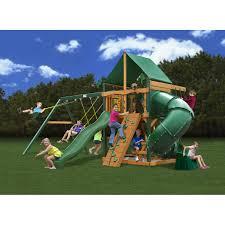 Backyard Swing Set Ideas Exterior Design Cool Gorilla Swing Sets Ideas For Your