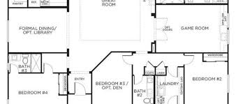 Single Storey Floor Plans One Story Home Plans