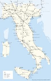 Bologna Italy Map by Italy Train Rail Maps