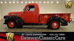 Vintage Ford Truck Specs - 1946 chevrolet pickup gateway classic cars st louis 6396