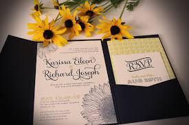 sunflower wedding invitations inspiring album of sunflower wedding invitations to inspire you