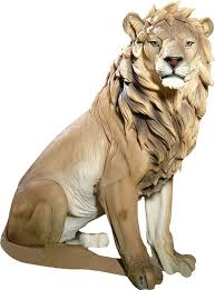 lion statue design toscano king of beasts lion statue reviews wayfair