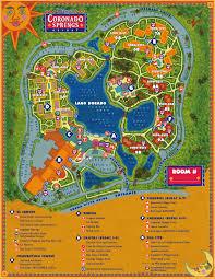 Walt Disney World Map by Walt Disney World Moderate Resorts Dadfordisney