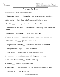 2nd grade printable writing paper second grade prefixes worksheets prefixes and suffixes worksheet