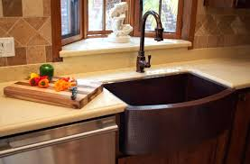 copper kitchen sink faucets impressive awesome copper kitchen sink faucet apron front