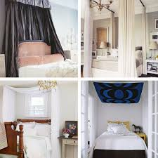 diy ideas for getting the look of a canopy bed without buying a
