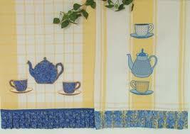 Machine Embroidery Designs For Kitchen Towels Advanced Embroidery Designs Kitchen Towels With Tea Set Appliqué