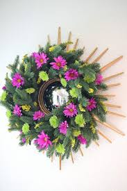 decorating with flowers living wreath by perkins