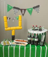 Super Bowl Decorating Ideas Decorating College Football Table Decorations Photograph And