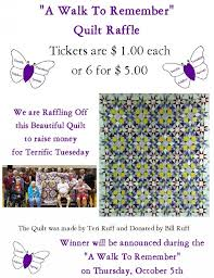 a walk to remember quilt raffle ksst radio