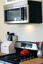 over the range microwave cabinet ideas can you put over the range microwave in a cabinet kitchen ideas with