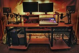 Small Music Studio Desk by Best Gaming Desk Setup Bingewatchshows Com Idolza