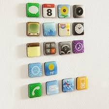 creative gift ideas girls reviews online shopping creative gift free shipping 18piece set app shape fridge magnets creative app magnets unique gift idea for boy for girl