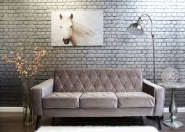 living room living room furniture classic gray three seat sofa