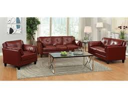 Burgundy Leather Sofa Red Leather Sofa Collection