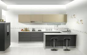 interior kitchen minimalist kitchen design with modern space saving design
