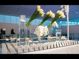 modern centerpieces modern calla wedding centerpieces