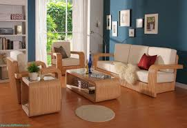 modren home furniture design living room with red sofas small