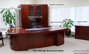 Executive Office Guest Chairs Chicago Modern Executive Office Desk