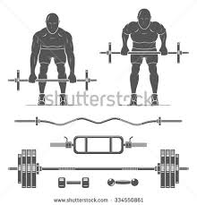 Bench Barbell Row Bent Over Row Stock Images Royalty Free Images U0026 Vectors