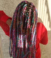 hair style with color yarn 20 cosy hairstyles with yarn braids