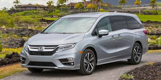 honda odyssey 2018 honda odyssey vehicles on display chicago auto show