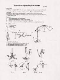 Patio Umbrella Replacement by Patio Umbrella Repair Parts Bing Images Patio Umbrella