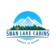 Montana travel logos images Logo and business card design for montana cabins in the woods 60 png