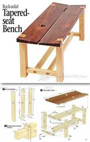 bench seat plans outdoor furniture plans u0026 projects