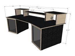 Omnirax Presto Studio Desk by Music Studio Desk For Sale Decorative Desk Decoration