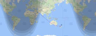 map world nz this map shows qatar airways new zealand route the world s