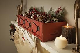 diy decor decorative holder on a rustic mantel