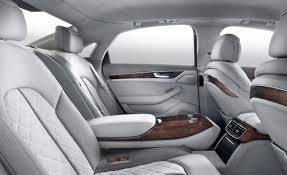 family car interior the audi a8 has the nicest interior of any car on the market today