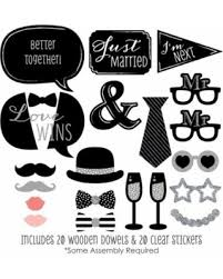 photo booth props for sale check out these bargains on mr mr silver wedding lgbtq