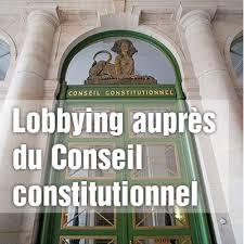 si e du conseil constitutionnel lobbying les portes étroites du conseil constitutionnel