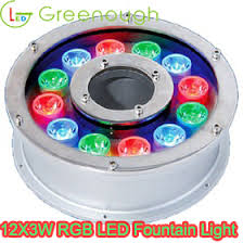 submersible led fountain lights gnh uw 12 3w b rgb changing led fountain light led pond light led