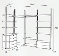 grandezza cabina armadio cabina armadio a soffitto con cassettiera pr423 emporio3