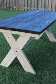 Build Your Own Round Wood Picnic Table by Best 25 Folding Picnic Table Ideas On Pinterest Outdoor Picnic