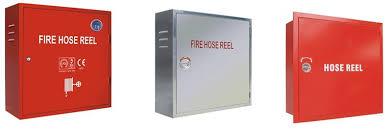 Dry Riser Cabinet Single Door Fire Hose Reel Cabinet Fire Equipment Cabinet